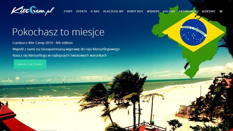 brazylia kursy kitesurfingu kite crew